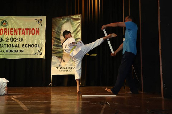 Amity International School-Karate