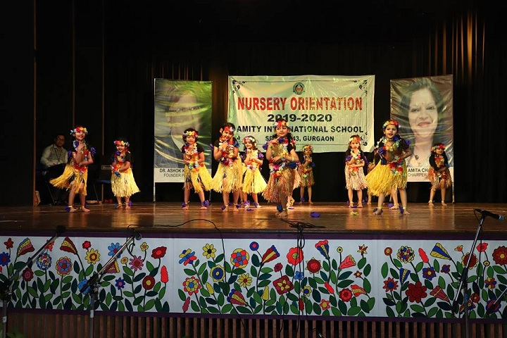 Amity International School-Nursery Orientation