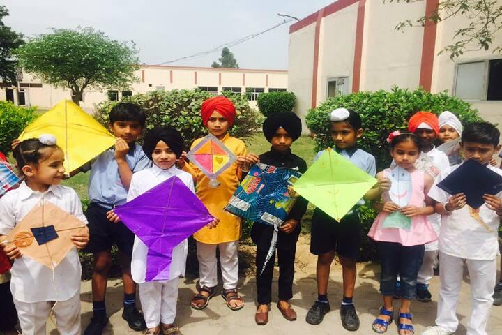 Amlok Public School-Baisakhi Activity