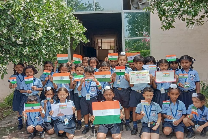 Amlok Public School-Independence Day