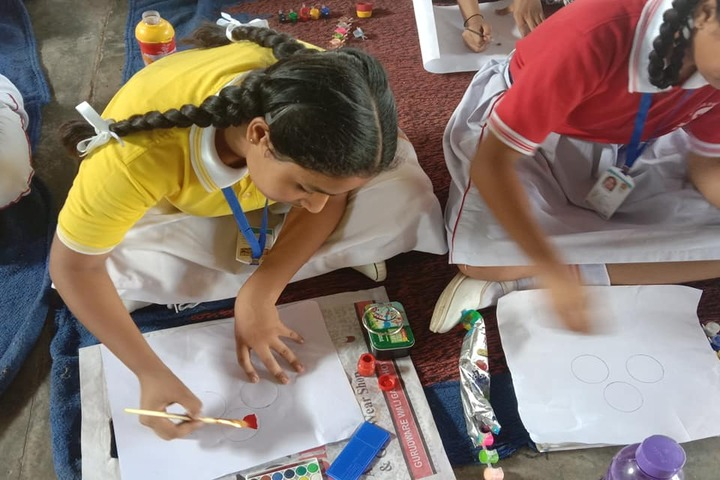 Amlok Public School-Painting Competition