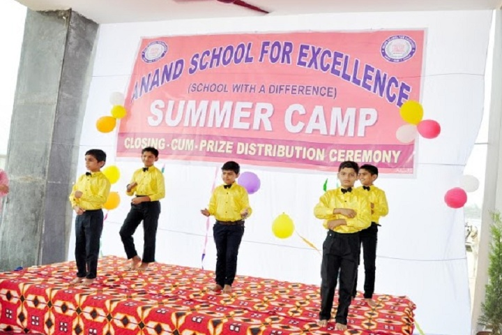 Anand School For Excellence-Summer Camp