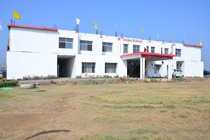 Anantam School-School Building