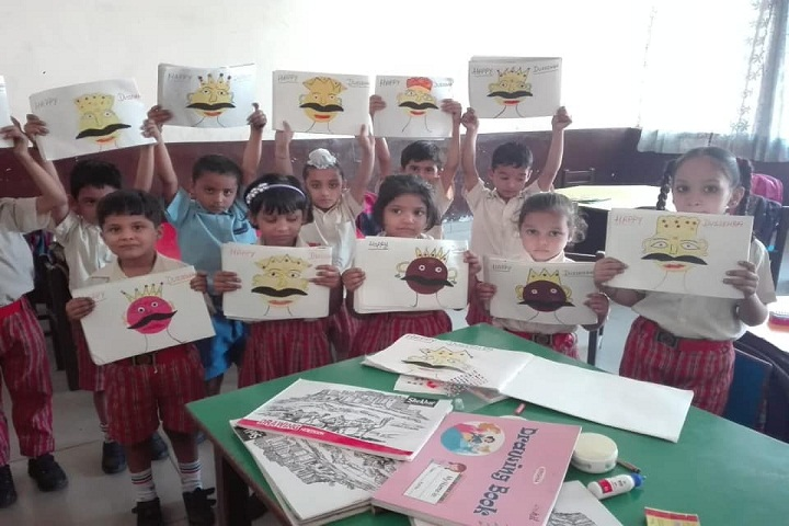 Angels Public School-Painting Competition