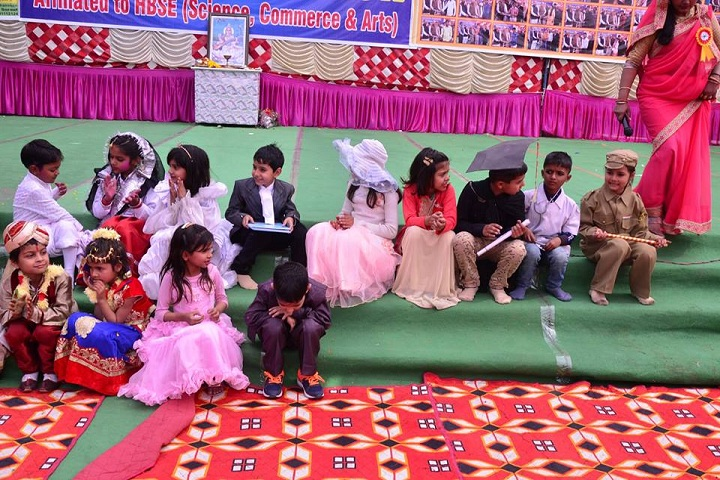 Anupam Public Senior Secondary School-Fancy Dress Competition