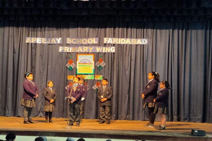 Apeejay School-Republic Day