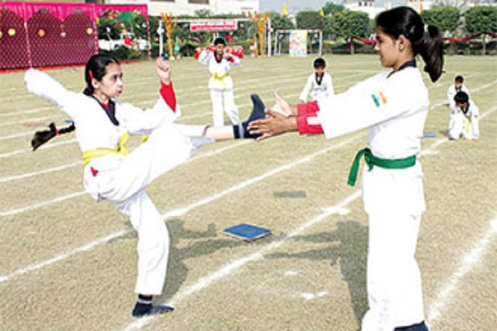 Apeejay Svran Global School-Karate