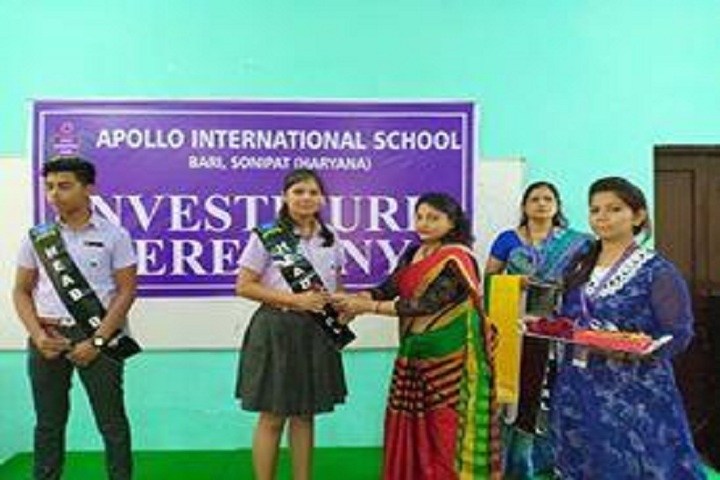 Apollo International School-Investiture Ceremony