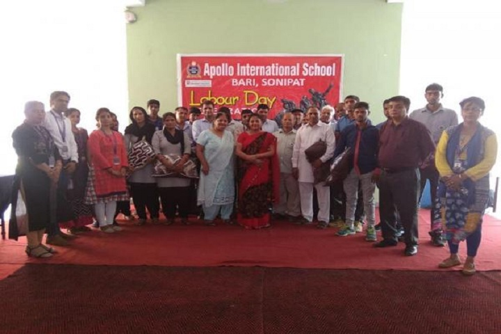 Apollo International School-Labour Day Clebrations