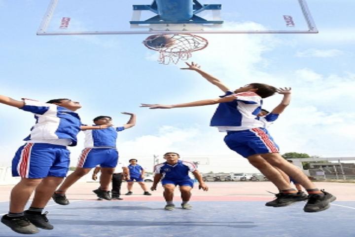 Apollo International School-Sports basketball