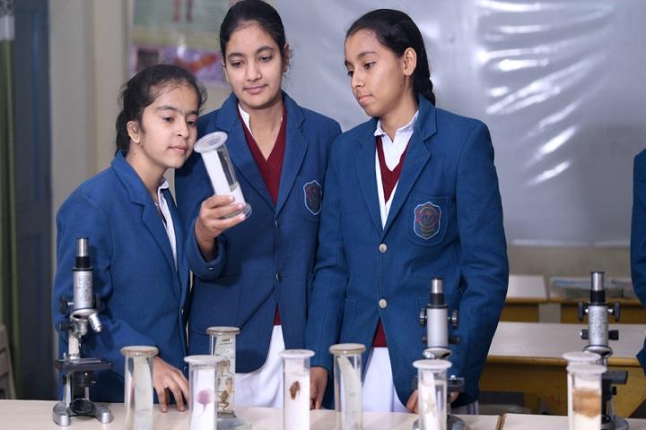 Arya Bal Bharti Public School-Biology Laboratory