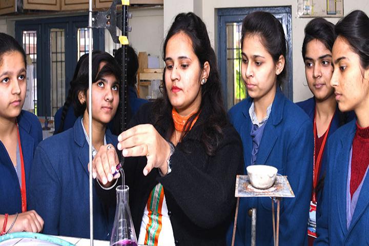 Arya Bal Bharti Public School-Chemistry Laboratory
