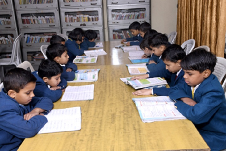 Arya Bal Bharti Public School-Library with reading room
