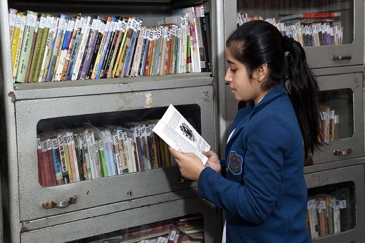 Arya Bal Bharti Public School-Library