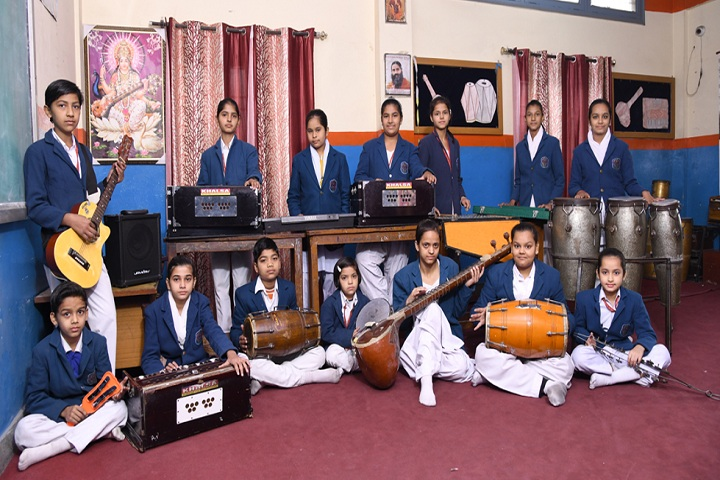 Arya Bal Bharti Public School-Music Room