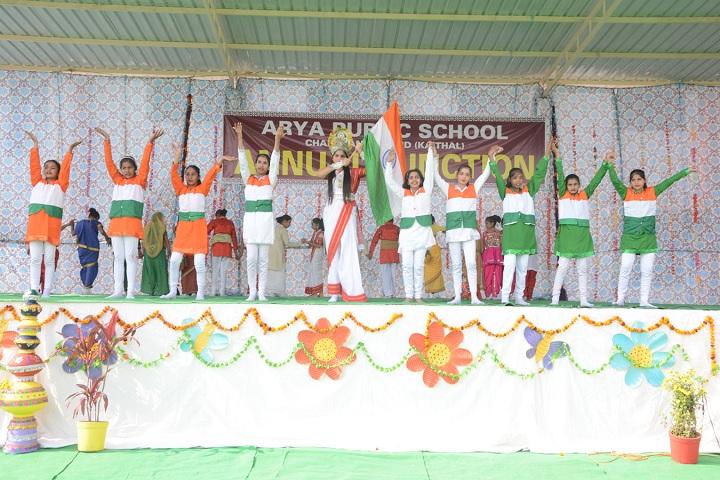 Arya Public School-Annual function