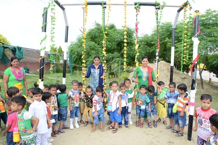 Arya Public School-Teej celebration