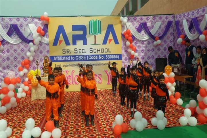 Arya Senior Secondary School-Monthly activities