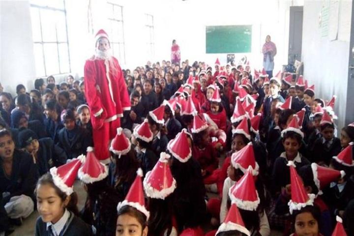 Arya Senior Secondary School-Christmas Celebration