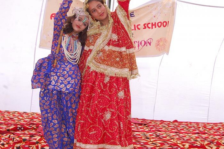 Aryan Global Public School-Dance