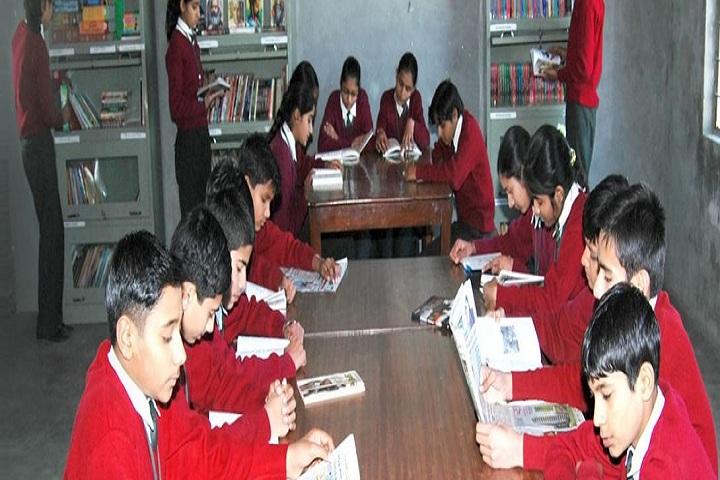 Aryan Public School-Library