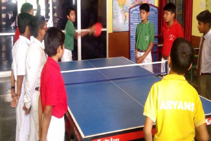 Aryans Model Senior Secondary School-Indoor Games