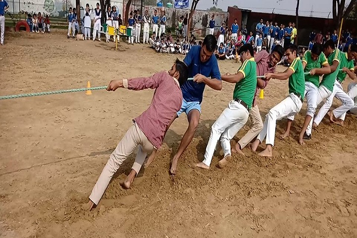 Aryavart High School-Tug Of War Sports