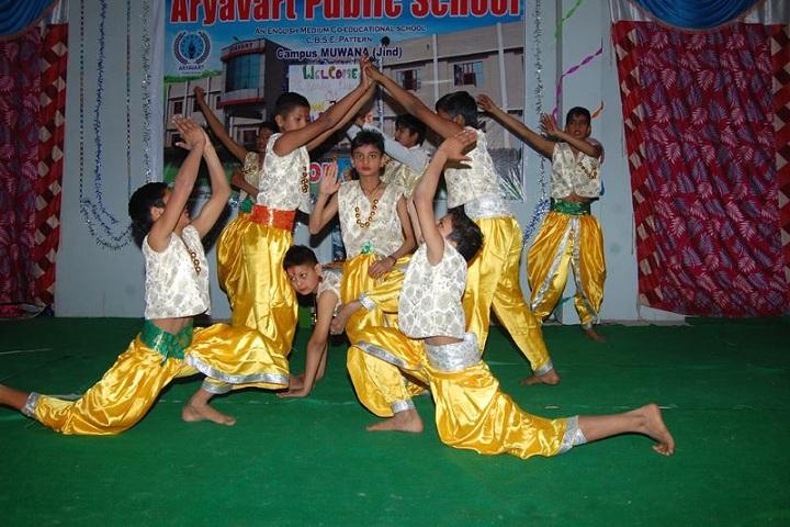 Aryavart Public School-Dance