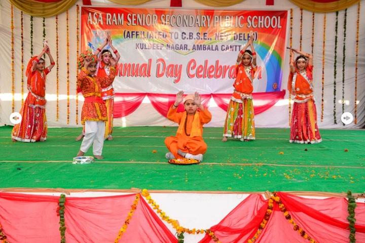 Asa Ram Public School-Dance