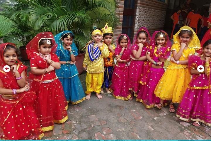 Asa Ram Public School-krishnastami