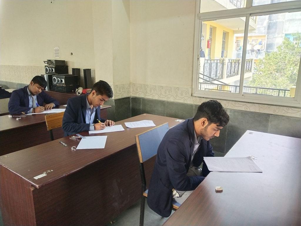 Ascent Public School-Exam Hall