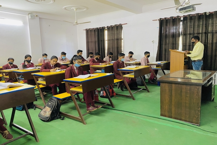 Asha Deep Senior Secondary School-Classroom