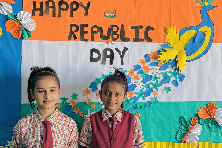Asha Deep Senior Secondary School-Republic day