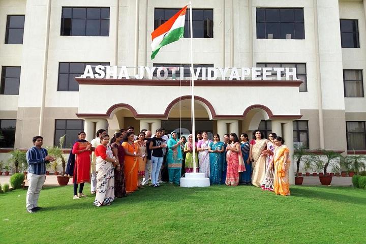 Asha Jyoti Vidyapeeth-Independence Day