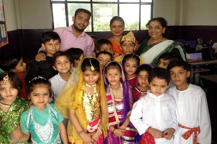 Asha Jyoti Vidyapeeth-krishnastami Celebration