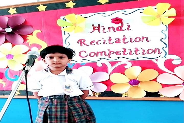 Asha Jyoti Vidyapeeth-Recitation Competetion