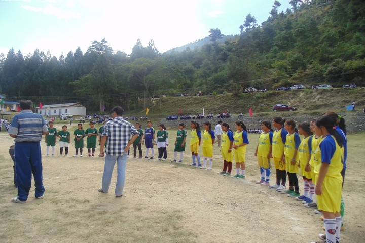 Government Higher Secondary School-Sports Meet