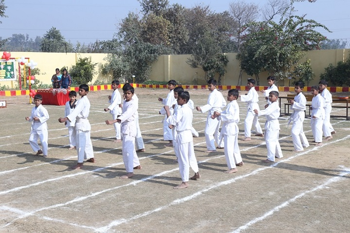 Ashoka International School-karate Class