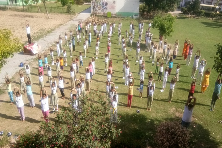 Ashtvinayak Public School-Yoga