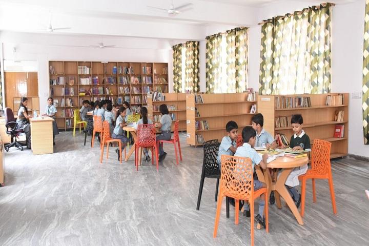Aviraj World School-Library Room