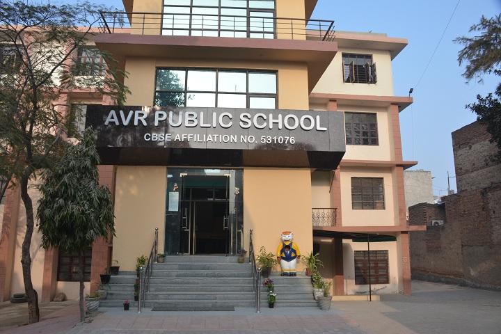 Avr Public School-school building