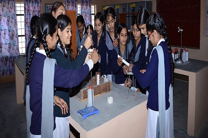 B D Memorial High School-Chemistry Lab