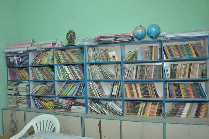 B P School-Library