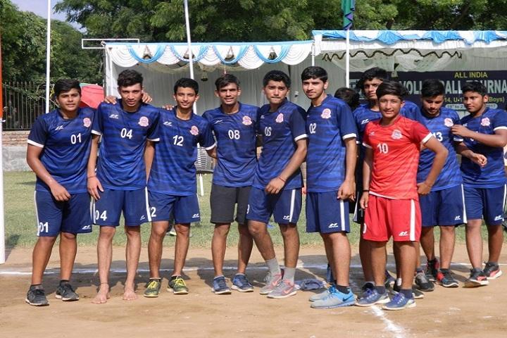 B R C M Public School- Volley ball championship
