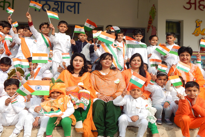 B R International Public School-Independence Day Celebrations