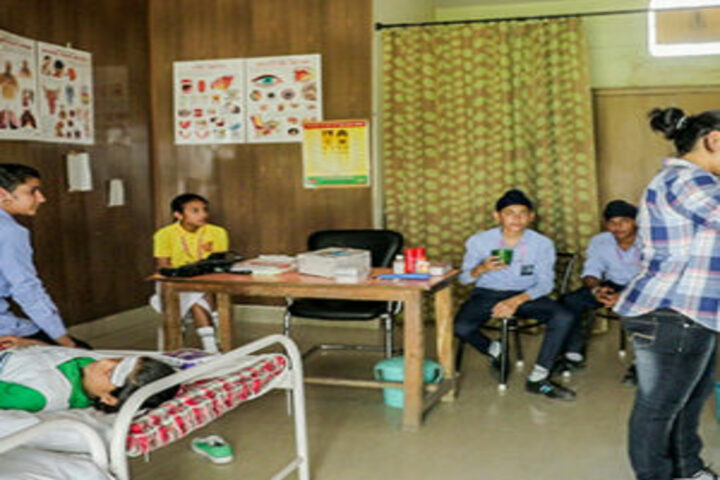 B R International Public School-Medical Room