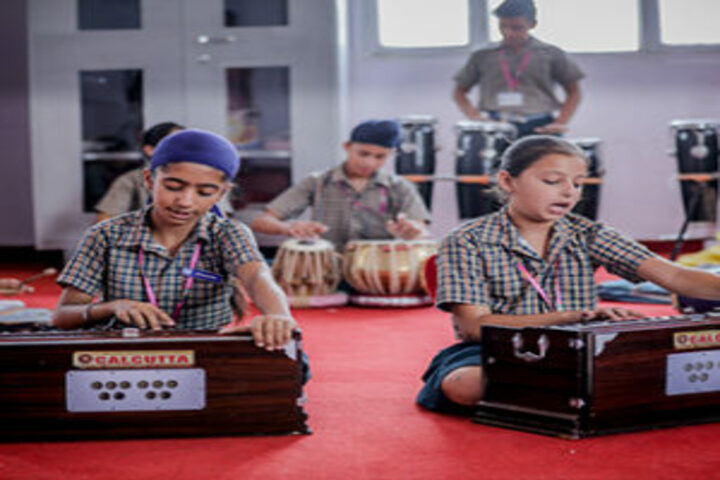 B R International Public School-Music