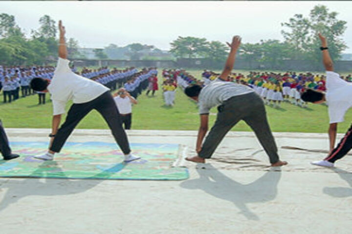 B R International Public School-Yoga