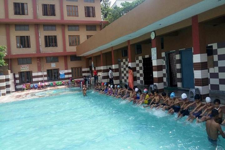 B S M High School-Swimming pool