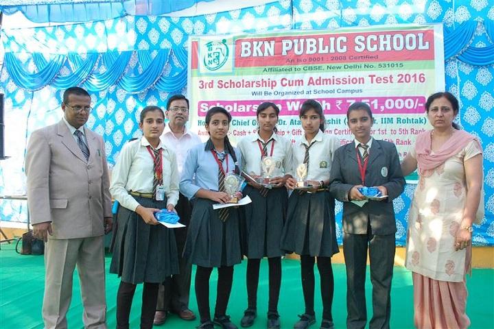 BKN Public School-winners